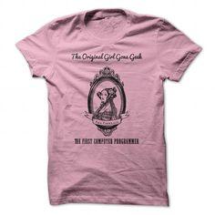 Ada Lovelace Girl Gone Geek - #grafic tee #funny sweatshirt. LOWEST PRICE => https://www.sunfrog.com/Geek-Tech/Ada-Lovelace-Girl-Gone-Geek-LightPink-Guys.html?68278
