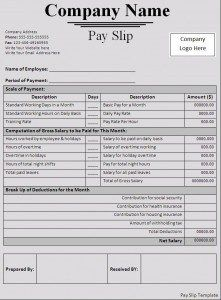 Image result for contoh payslip kakitangan kerajaan | payslip ...