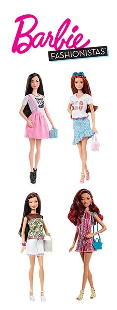 Love the variety, style, and diversity of Barbie Fashionista dolls [ad] ==