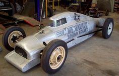 Christophe Mehault's Hand built V8 Lakester, 1930 Ford Model A Cab Pickup