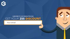 get 25$ off your 1st design or get it for free if it's under 25$ :D just by subscribing to our newsletter  how to subscribe: 1- open and surf the website http://graphichex.com/ 2- wait 30 secounds for the fly out to show up 3- write your mail down  and here you go ;) Note: it only works for the 1st time