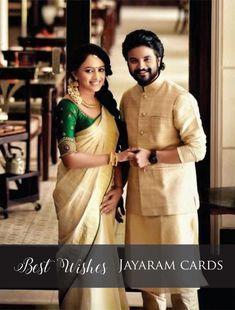 Kerala Engagement Dress, Engagement Saree, Engagement Dresses, Onam Saree, Kasavu Saree, Kerala Saree Blouse Designs, Bridal Blouse Designs, Bridal Silk Saree, Saree Wedding