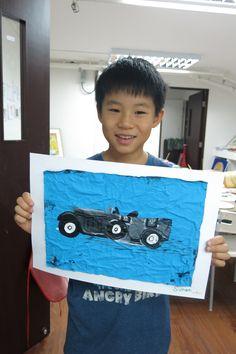 Foundational Art - Simon, 9 years old