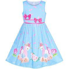 Deux Par Deux Miss Butterfly Printed Dress Size 2-12 Years