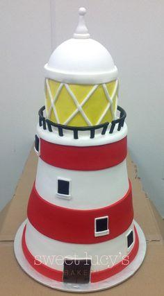 Morristown, NJ - What exactly is fondant anyway? Gorgeous Cakes, Pretty Cakes, Amazing Cakes, Fondant Cakes, Cupcake Cakes, Cupcakes, Lighthouse Cake, Bithday Cake, Dad Cake