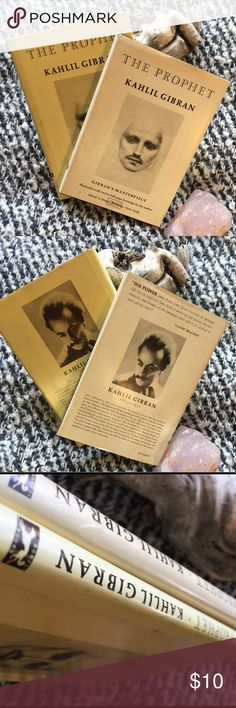 The Prophet By K. Gibran The Prophet By K. Gibran / Hardback / two available, the posting is for One book / Buy this for your Boyfriend or your Dad / good Condition / Classic book 📚 / Re/Done Other
