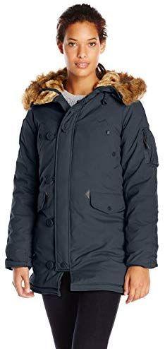 7bc7e3e4224ea Best Seller Alpha Industries Women s Altitude Slim Fit Oxford Nylon Parka  online. Coats For ...