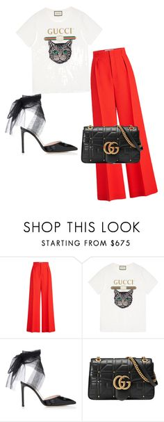 """""""Dress ups!"""" by meghanleeson on Polyvore featuring Roland Mouret and Gucci"""