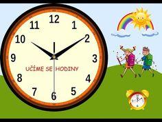 Poznáváme hodiny - učíme se poznat čas na ručičkových hodinách - pro děti - YouTube Clock, Wall, Youtube, Dyslexia, Watch, Clocks, Walls, Youtubers, Youtube Movies
