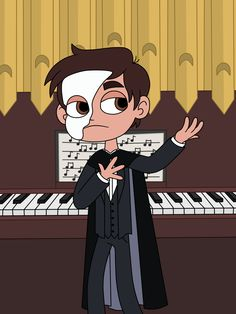 "starcosigning: "" Marco Diaz the Phantom of the Opera A young teenager soprano becomes the obsession of a disfigured musical genius who lives beneath the Paris Opera House. """