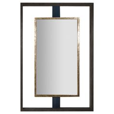 Buy Paul Marra Negative Space Mirror Distressed Finish & Horsehair - Mirrors - Accessories - Dering Hall