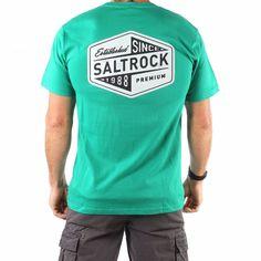 bd8ede8d2779 Established - Men's Saltrock T-shirt - Green