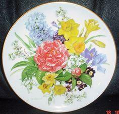 Hutschenreuther German Plate Fruhlingsmorgen by yolandasGiftShop