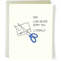 60 Trendy Gifts For Dad Funny Fathers Day Cards Funny Fathers Day Card, Fathers Day Quotes, Fathers Day Crafts, Fathers Day Cards Handmade, Dad Quotes, Handmade Cards, Diy Father's Day Gifts Easy, Father's Day Diy, Gifts For Dad
