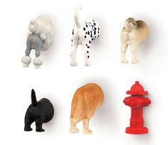 Dog Butt Magnets, Set of 6 #coolpetproducts #pawpods #petmagnets