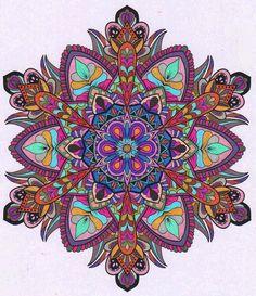 ColorIt Mandalas Volume 2 Colorist: Lorrie Palmer #adultcoloring #adultcoloring #coloringforadults #adultcoloringpages #mandalas