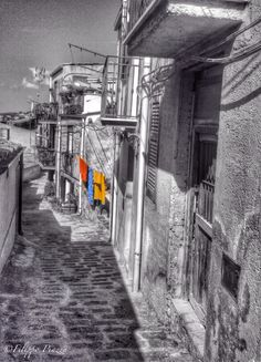 Clothes lines Panni stesi in Mussomeli -CL - #mussomeli #sicily