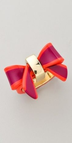 Marc Jacobs Bow Ring