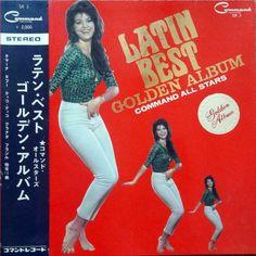Command All Stars - Latin Best Golden Album (Command; 1966) Japan-only instrumental LP #records #vinyl #albums #LP