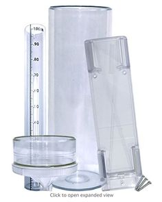 Stratus Precision Rain Gauge with Mounting Bracket All Weather)