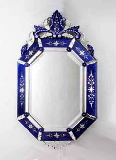 Awesome Antique Venetian Mirror