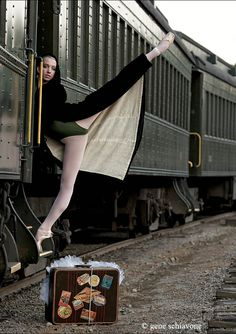 Hop aboard the ballet train!