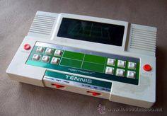 CONSOLA, MAQUINA A BATERIA, TOMYTRONICS, TOMY ELECTRONICS,TENNIS, FABRIADA EN JAPON, 1970s, FUNCIONA
