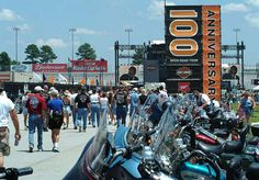 2002 The Open Road Tour debuts in Atlanta, GA, in July to celebrate the upcoming Harley-Davidson 100th Anniversary. Harley Davidson History, Harley Fatboy, Anniversary Parties, Atlanta, Tours, Milwaukee, Celebrities, Travel, Party