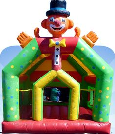 jump on a jumping castle