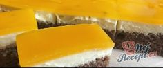 Recept Tvarohový koláček s ovocným želé 20 Min, Cheesecake, Food, Cheesecakes, Essen, Meals, Yemek, Cherry Cheesecake Shooters, Eten