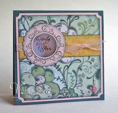Greeting Card Happily Ever After Wedding by JanTink on Etsy, $6.95