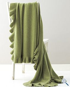 Cashmere/wool Throw