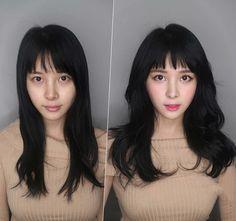 Đâu cần make up, chỉ đổi kiểu tóc thôi là bạn đủ xinh lung linh rồi