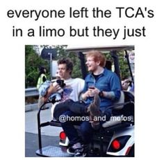 Harry Styles and Ed Sheeran everybody