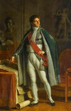 Alexandre Berthier, Prince de Neufchâtel et de Wagram, maréchal de France (1753-1815). Napoleon's Chief of Staff during the 1756 campaign and for many years afterwards.