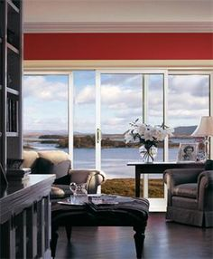 Sliding doors add dimension to any home!