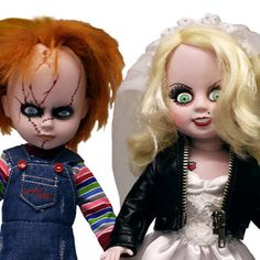 Chucky and Tiffany Living Dead Dolls Childs Play Collectible Figure | http://ift.tt/2cHTDA0 shares #collectibles #toys collectible figures #moviecollectibles movie memorabilia pop culture figures movie figures collectible toys star wars collectibles action toys figures
