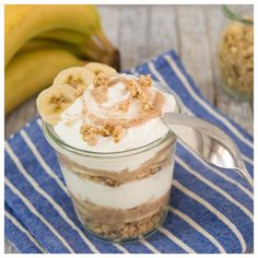 Healthy Desserts, Healthy Recipes, Banoffee, Oreo Pops, Tasty, Yummy Food, Breakfast Time, Brunch Recipes, Smoothies
