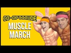 Muscle March Let's Play: Co-Optitude Ep 79 - Felicia and Ryon Day
