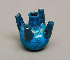 Faience vessel, Middle Kingdom–Early New Kingdom, Dynasty 12–18, ca. 1981–1425 B.C.E.