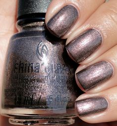 China Glaze Wood You Wanna? Just bought some to wear for fall, hope it looks good on me. Great Nails, Fabulous Nails, Love Nails, Fun Nails, China Nails, China Glaze Nail Polish, Nail Picking, Nails 2015, Nail Blog