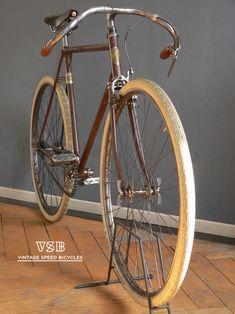 "vintagespeedbicycles: "" 1931 or older, french by vsb http://instagram.com/vintagespeedbicycles http://www.facebook.com/luca.poretti.3?ref=tn_tnmn http://www.flickr.com/photos/11521783@N05/sets """