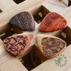NEW COLLECTION - Laser Tones Grip Luxury Guitar Plectrums