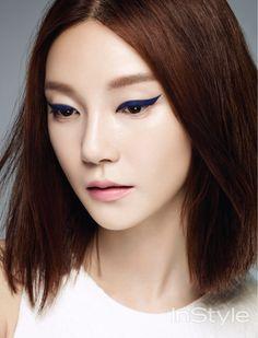 Cha Ye Ryun InStyle Korea Magazine August Issue '14