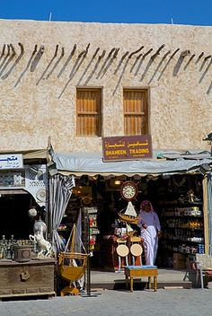 Stall, Waqif Souq, Doha, Qatar, Middle East