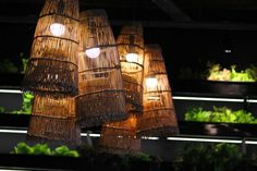 Turning #recycled goods into #beautiful #lamps!