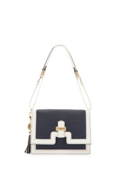 Visit Paul's Boutique's new handbag collection. Take your pick from classic beige and black patent bags to eye-catching prints and vibrant neon shades. Paul's Boutique, New Handbags, Navy And White, Satchel, Objects, Beige, Shoulder Bag, My Style, Classic