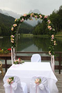 Hochzeit am Riessersee in Garmisch-Partenkirchen