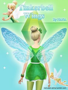 Tinkerbell Wings by NANA at Nolween via Sims 4 Updates