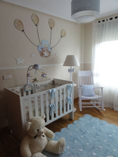 1000 images about habitacion bebe on pinterest bebe - Decoracion para cuartos de bebes ...